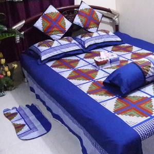 Fashionable Bed Sheet 8 Pieces Set  AF- 009