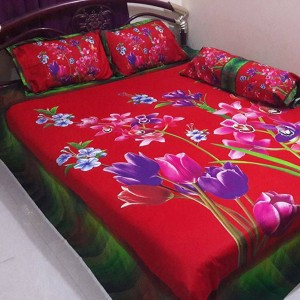 Fashionable Bed Sheet 3 Pieces Set