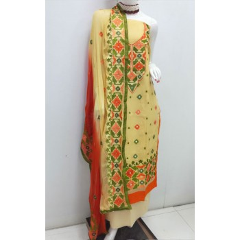 Unstitched High Quality Cotton Printed Lawn