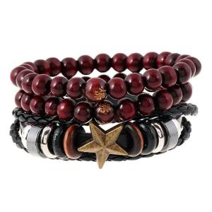 Leather Bracelet (B-21)