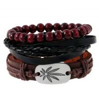 Leather Bracelet for Men (B40)
