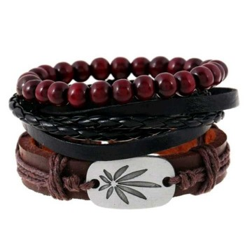 Leather Bracelet for Men (B40)