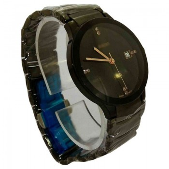 EXCLUSIVE BLACK ANALOG WATCH  (W-042)